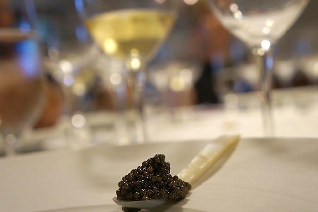 dégustation caviar lyon, événement entreprise, cadeau fin d'année
