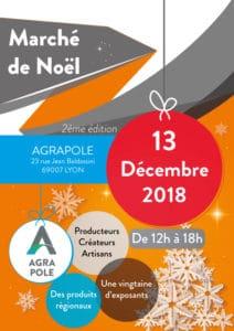 Marché de Noël Agrapole 2018 @ ISARA - Agrapole LYON