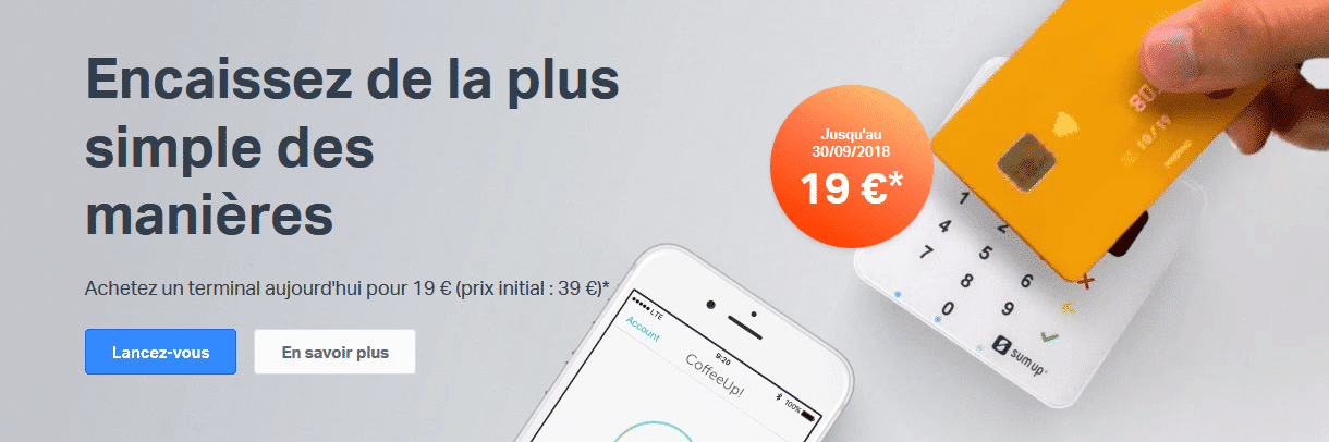 offre promo sum up air, offre tpe nomade, sumup
